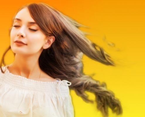 میزان تخلخل مو
