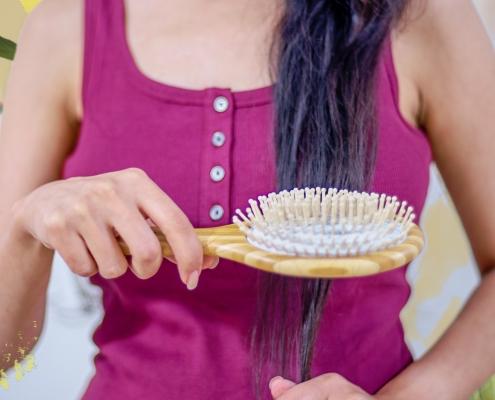 حفظ بهداشت برس مو